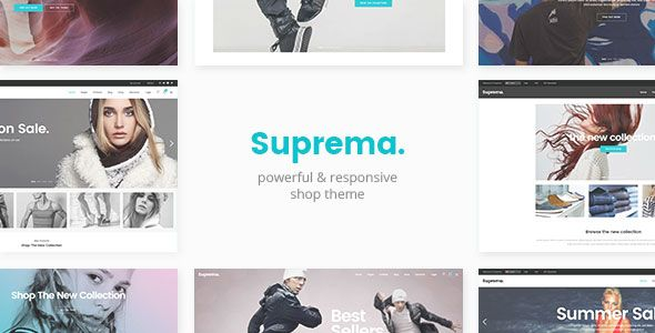Suprema v1.7 – Multipurpose eCommerce Theme