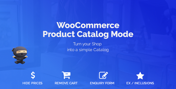 WooCommerce Product Catalog Mode v1.6.10 – 产品目录模式插件