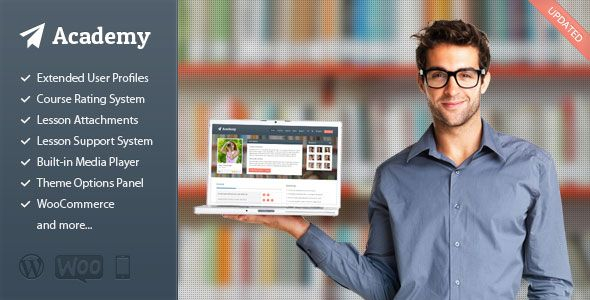 Academy v2.15 – Learning Management WordPress Theme