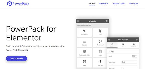PowerPack for Elementor v2.1.0 – Elementor扩展
