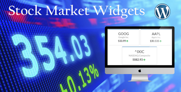 Stock Market Widgets for WordPress v1.0.9