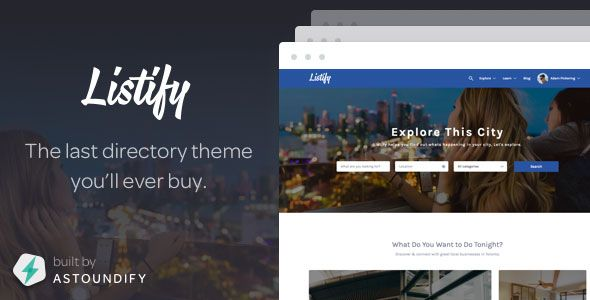 Listify v1.8.2 – Themeforest WordPress Directory Theme