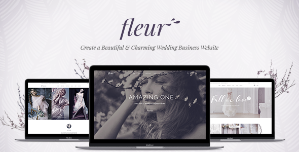 Fleur v1.0 – A Theme for Weddings, Celebrations