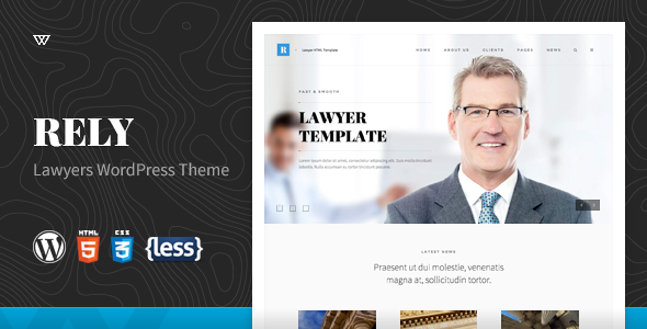 Rely – Lawyers WordPress Theme