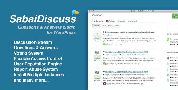 Sabai Discuss for WordPress v1.3.40
