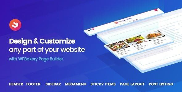 Smart Sections Theme Builder v1.5.5 – WPBakery页面构建器插件