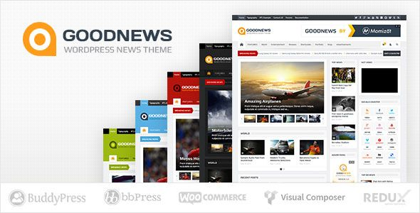 Goodnews v5.8.7 – Responsive WordPress News/Magazine