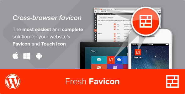 Fresh Favicon v1.1.2 – WordPress网站图标插件