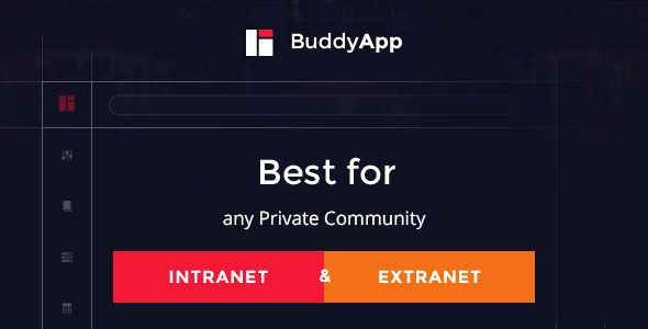 BuddyApp v1.3 – Mobile First Community WordPress theme