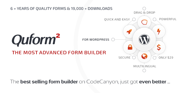 Quform v2.11.0 – WordPress表单生成器