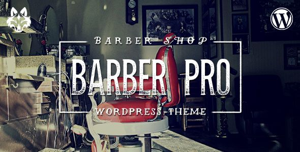Barber Pro v2.0.8 – Professional Barber Shop WordPress Theme