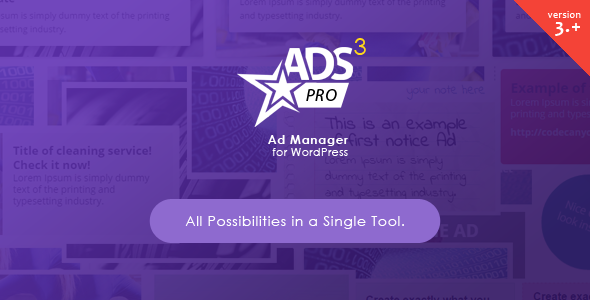 ADS PRO v3.3.24 – Multi-Purpose WordPress Ad Manager