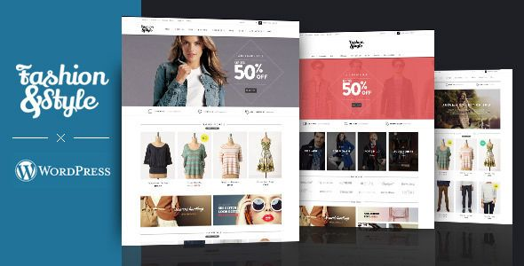 Fashion v1.7.6 – WooCommerce Responsive WordPress Theme