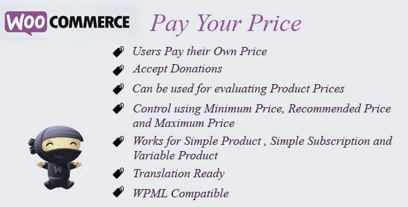 WooCommerce Pay Your Price v7.4