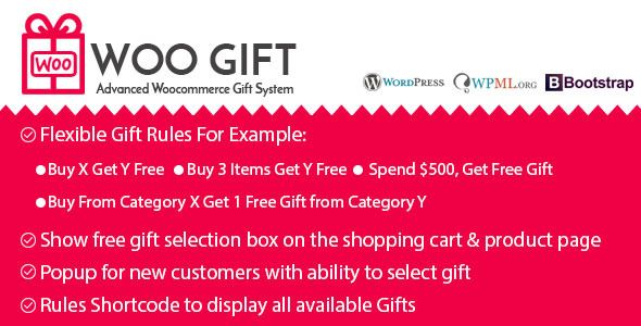Woo Gift v3.0 – Advanced Woocommerce Gift Plugin
