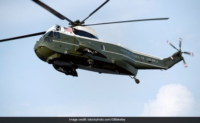 US Navy Helicopter Crashes Off California Coast: Officials