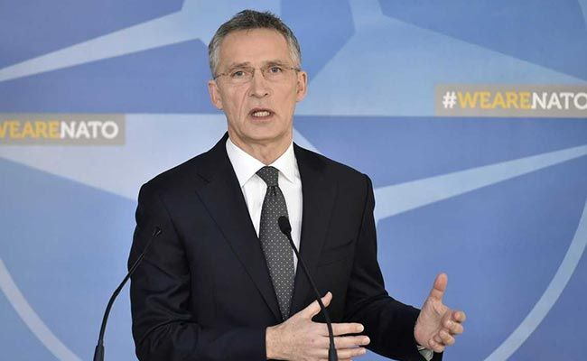 NATO Chief Jens Stoltenberg Calls For Stronger China Policy
