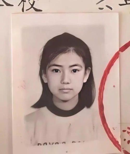 高圆圆小学时的证件照,曝光了真的太美了 明星 最新国内娱乐圈新闻  第2张