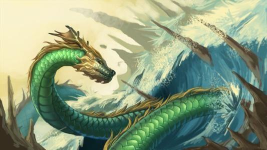 传说中,龟,鱼,马,蛇是怎么进化成龙?要经过那些的磨练和修炼? 古代故事大全 民间故事大全 神话故事大全 第2张