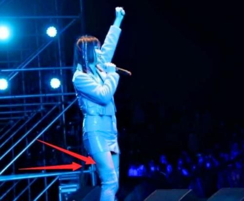 黄龄摔下舞台 黄龄摔倒现场画面曝光回应伤情具体情况 明星 生活 最新香港娱乐新闻  第2张