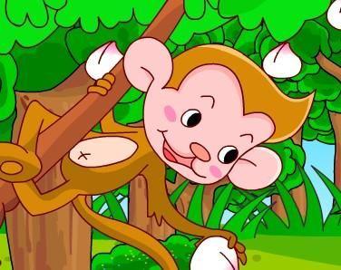 3至6岁简短小故事:不爱睡觉的小猴子故事 寓言故事大全 早教故事大全 童话故事大全 儿童睡前故事大全 儿童故事  第1张