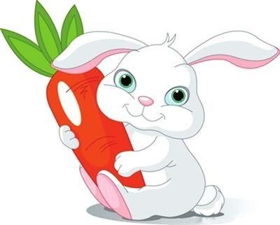 小兔子与嘟嘟熊买萝卜的故事 童话故事大全 儿童睡前故事大全 儿童故事  第1张