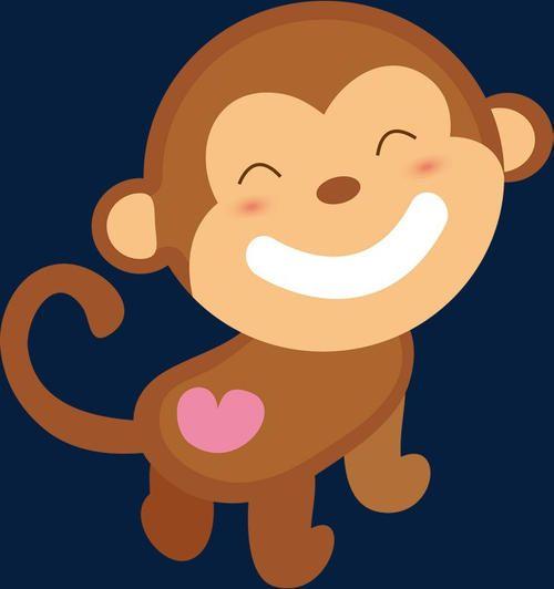 热情的小猴子送衣服