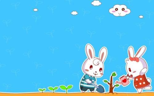很甜很撩的睡前小故事:两只兔子的爱情故事 短篇故事大全 爱情故事大全 两性故事大全 暖心爱情故事大全 虐心的小故事 寓言故事大全 第1张