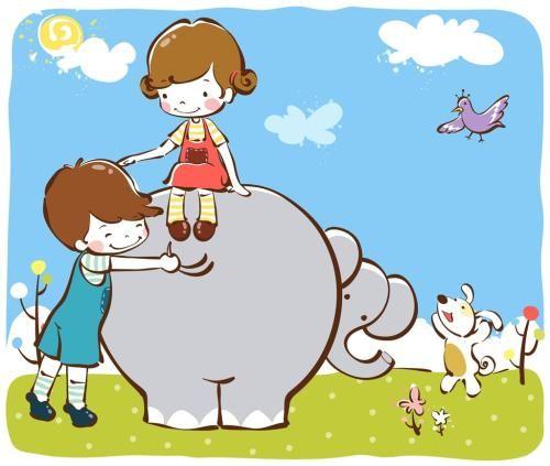 大象滑梯笑了的故事 短篇故事大全 宝宝睡前故事大全 早教故事大全 幼儿故事大全 儿童睡前故事大全 童话故事大全 第1张