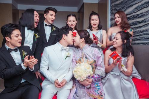 董春辉花千骨十一师兄婚礼老婆老婆徐茜茹 婚姻 明星 最新香港娱乐新闻  第3张