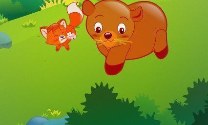 熊壮壮和小狐狸 宝宝睡前故事大全 早教故事大全 童话故事大全 儿童睡前故事大全 短篇故事大全 儿童故事  第1张