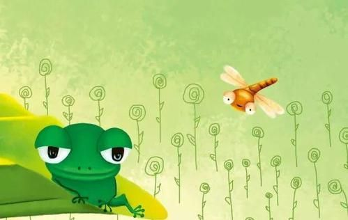 7岁儿童睡前故事,小青蛙与小蜻蜓的故事 早教故事大全 宝宝睡前故事大全 幼儿故事大全 儿童睡前故事大全 童话故事大全 第1张