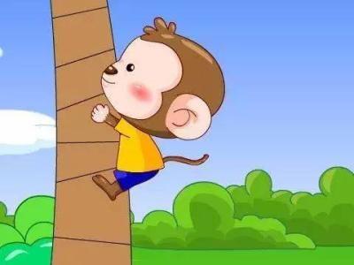 乐于分享的儿童故事,小猴子送桃子