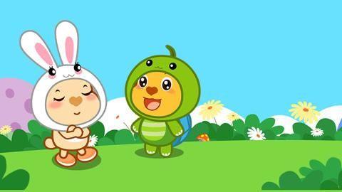 6一7岁儿童睡前故事:懂礼貌的小白兔