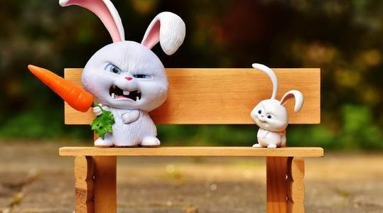 3 6岁睡前故事:爱挑食的小白兔