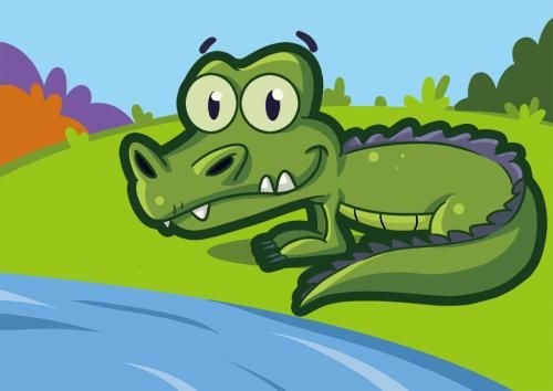 4一5岁睡前故事_有一只鳄鱼是这样的故事