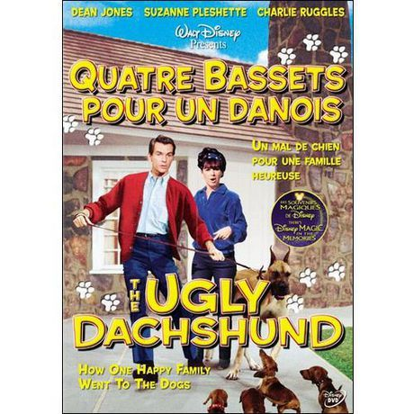 Quatre Bassets Pour Un Danois (The Ugly Dachshund) 1966 TrueFrench 1080p HDLight BluRay AC3 x265-Thebatou8652