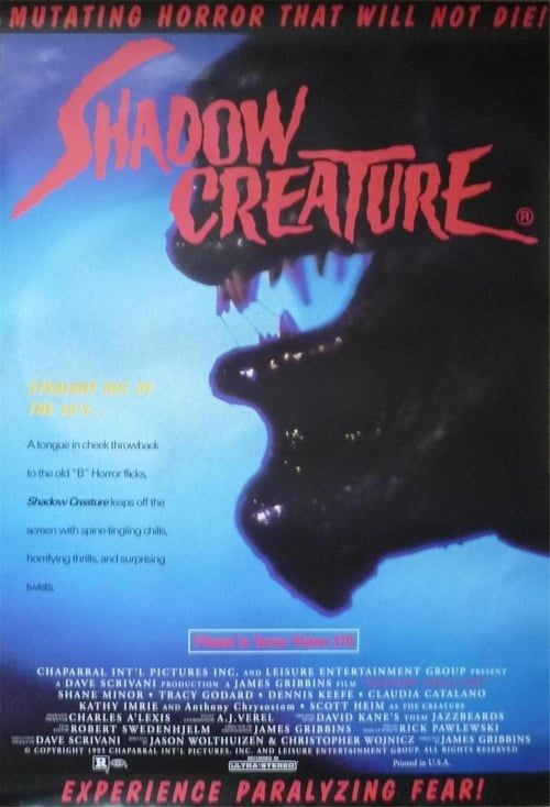 Shadow creature  (1995) Truefrench DVDRIP MPEG2 AC3