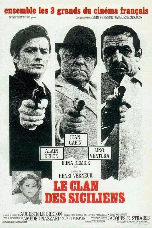 Le Clan des Siciliens 1969 FRENCH 1080p Bluray REMUX AVC DTS HDMA 2 0-SWS