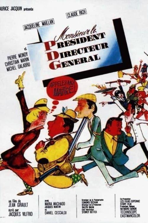 Monsieur Le Président Directeur Général 1966 FRENCH VHSRip XviD MP3-TAD™
