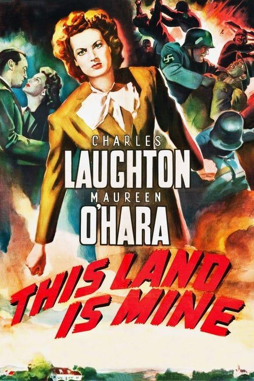 Vivre Libre ( This Land Is Mine ) 1943 1080p BDRip Multi x264 AC3