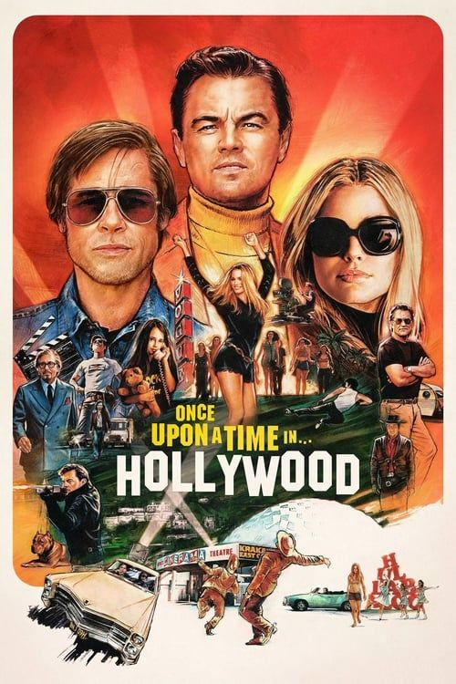 Once Upon A Time In Hollywood 2019 1080p HDRip VOSTEN X264 - [1080p-X264-VOSTEN]