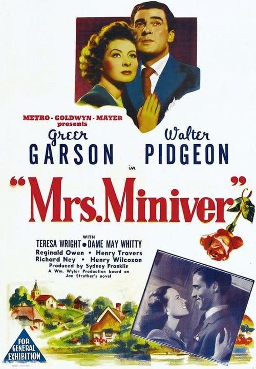 Madame Miniver 1942 1080p BRRip x264-Classics (Mrs Miniver)