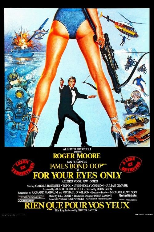 James Bond 007 For Your Eyes Only 1981 4K MULTI 2160p SDR WEB DTS x265-EXTREME (Rien que pour vos yeux)