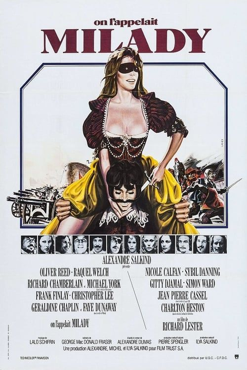 On l'appelait Milady 1974 1080p BRRip x264-Classics (The Four Musketeers)