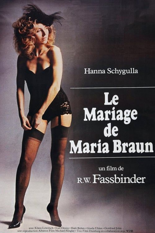 The Marriage of Maria Braun 1978 SUBFRENCH 720p BluRay x264-DuSS