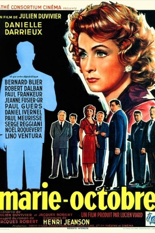 Marie Octobre 1959 FRENCH COMPLETE BLURAY