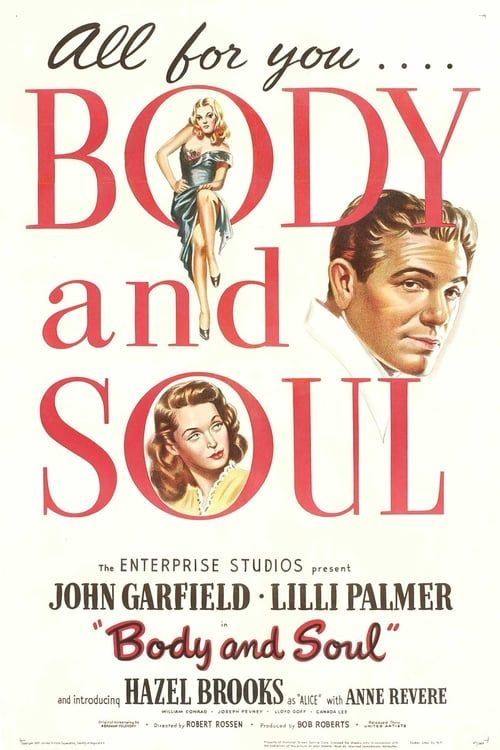 Sang et or 1947 (1080p BRRip x264-Classics (Body and Soul)