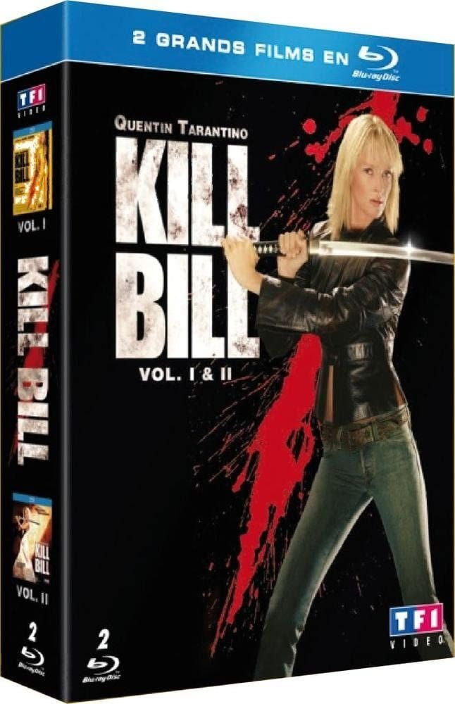 Coffret Kill Bill 2003 Full BluRay Multi True French ISO 2xBDR50 MPEG-4 AVC DTS-HD Master FreexOptique