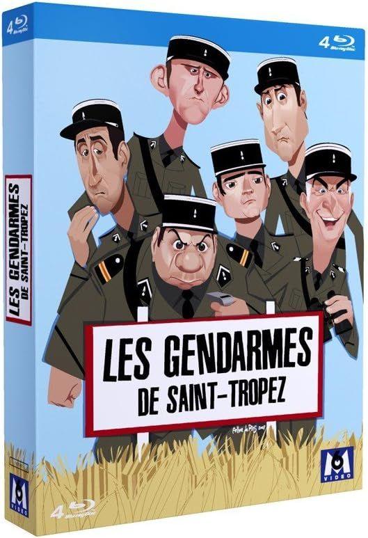Les Gendarmes de Saint-Tropez - L'intégrale 1964-1982 FRENCH BLURAY REMUX